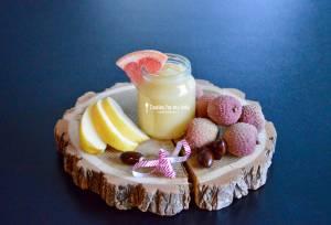 Recette de Noël : Compote Litchi Pomme Pamplemousse pour bébé (Dès 6 mois)