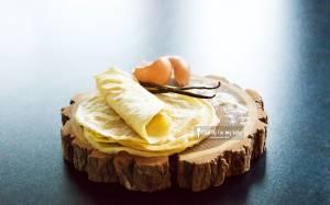 Recette de crêpes à la vanille pour bébé (sans lait et sans sucre, dès 10 mois)