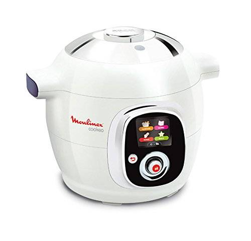Moulinex Cookeo - Multicuiseur intelligent 50 recettes - Blanc