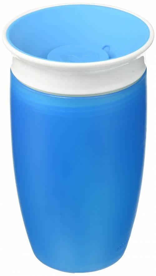 Munchkin - Tasse miracle 360ᵒ d'apprentissage pour bébé - bleu - 296ml