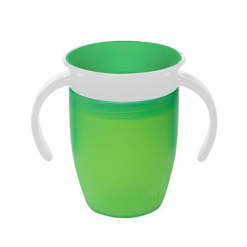 Munchkin - Tasse miracle 360ᵒ d'apprentissage pour bébé - vert - 207ml