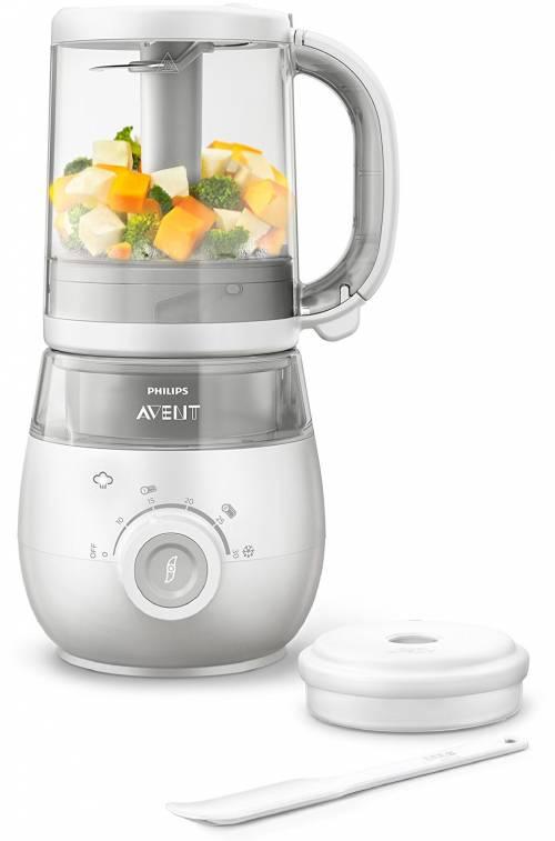 Philips Avent - Robot pour bébé 4 en 1, cuisez, tournez, mixez