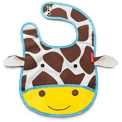 Skip Hop - Bavoir pour bébé Girafe (plusieurs coloris disponibles)