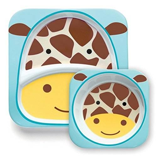 Skip Hop - Kit assiette + bol Girafe pour bébé