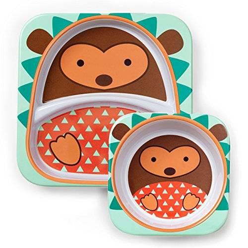 Skip Hop - Kit assiette + bol Hérisson pour bébé