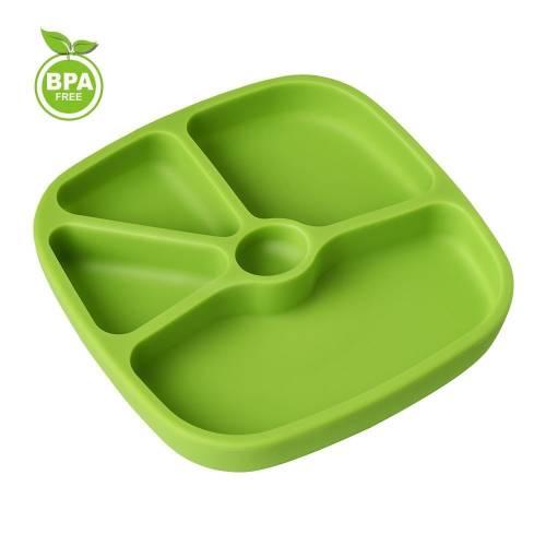TTLIFE - Assiette pour bébé avec ventouse silicone (plusieurs coloris disponibles)
