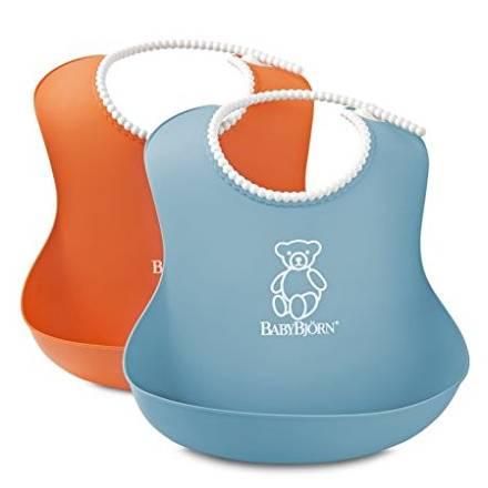 Babybjörn - Pack de 2 bavoirs souples