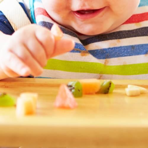 Découverte des aliments pour bébé