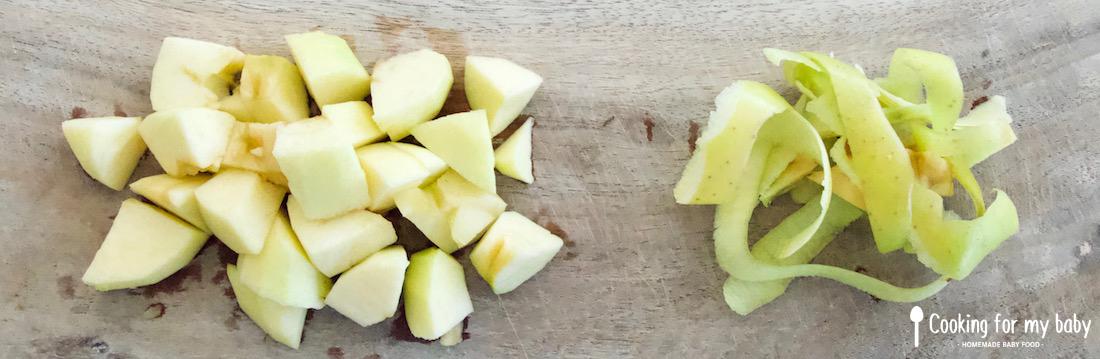 Pomme pour bébé