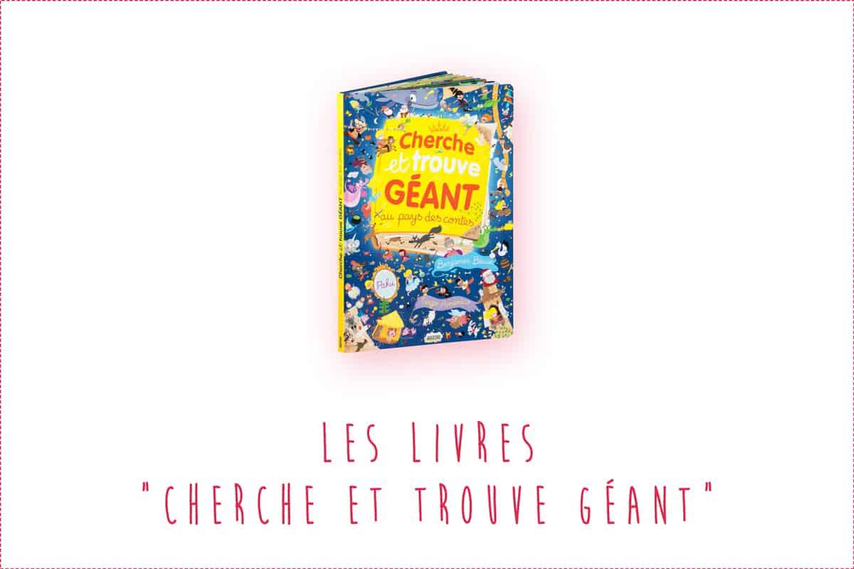 """Les livres """"Cherche et trouve géant"""" pour les bébés et enfants !"""