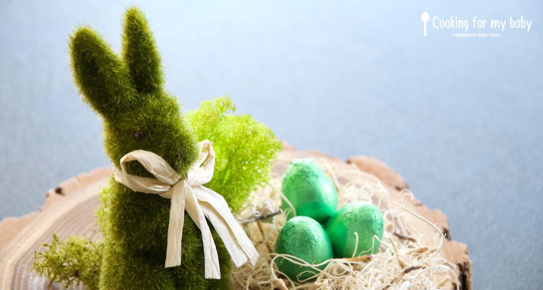 Oeufs de Pâques pour bébé