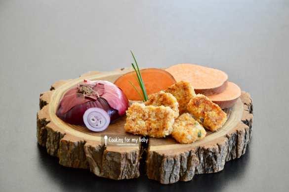 Recette de nuggets de poisson à la patate douce pour bébé (Dès 10 mois)