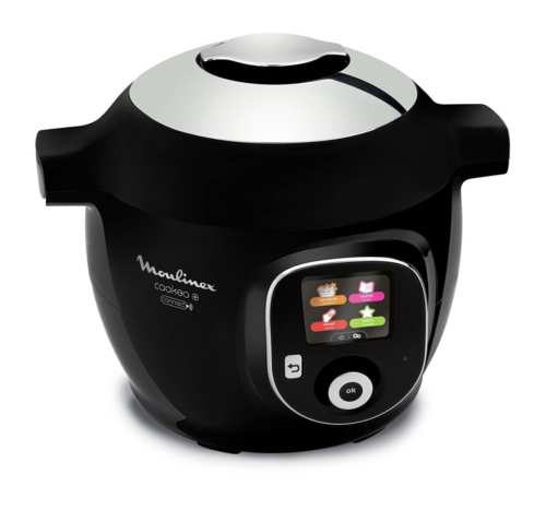 Moulinex Cookeo - Multicuiseur intelligent + Connect - Noir