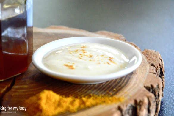 Recette de sauce au curry pour bébé (Dès 12 mois)