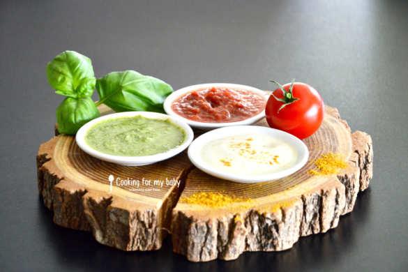 Recettes de petites sauces pour bébé (Dès 8 mois)