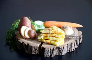 Recette de tortilla de légumes pour bébé (Dès 12 mois)