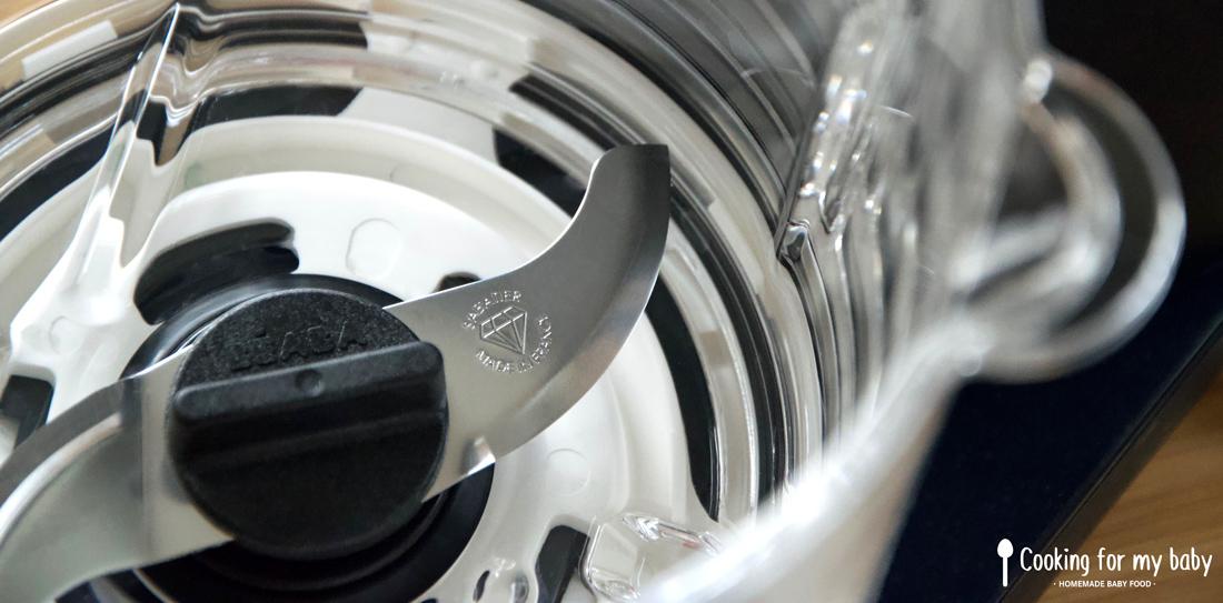 Test du Babycook® Neo de Béaba : Double lame précision avec Diamant Sabatier