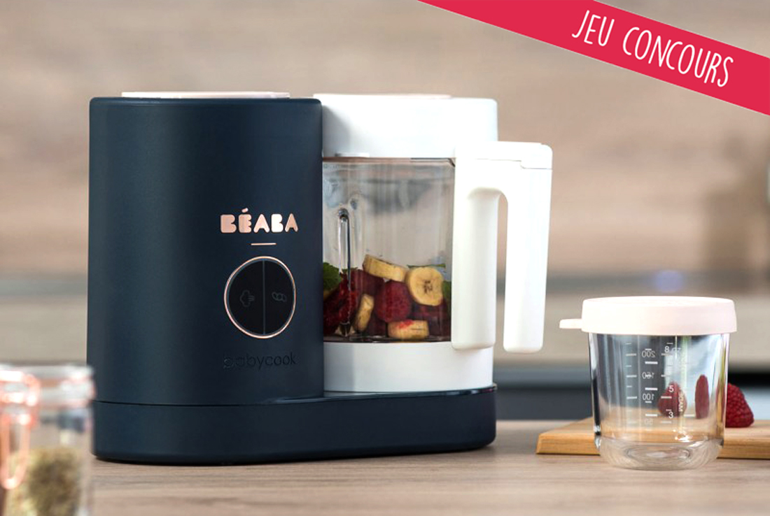 Jeu concours BÉABA & Cooking for my baby : Gagnez le nouveau Babycook® Neo !
