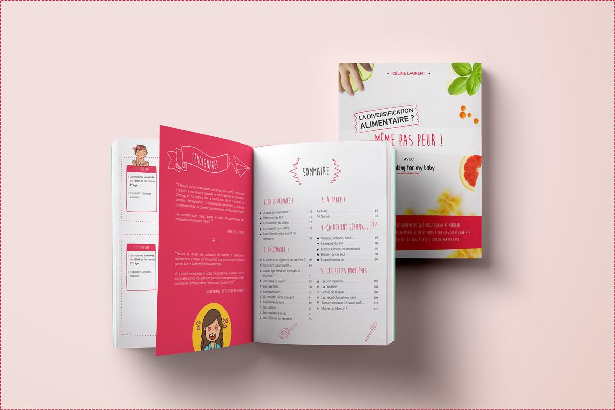 Livre de diversification alimentaire : pour tout savoir de A à Z !