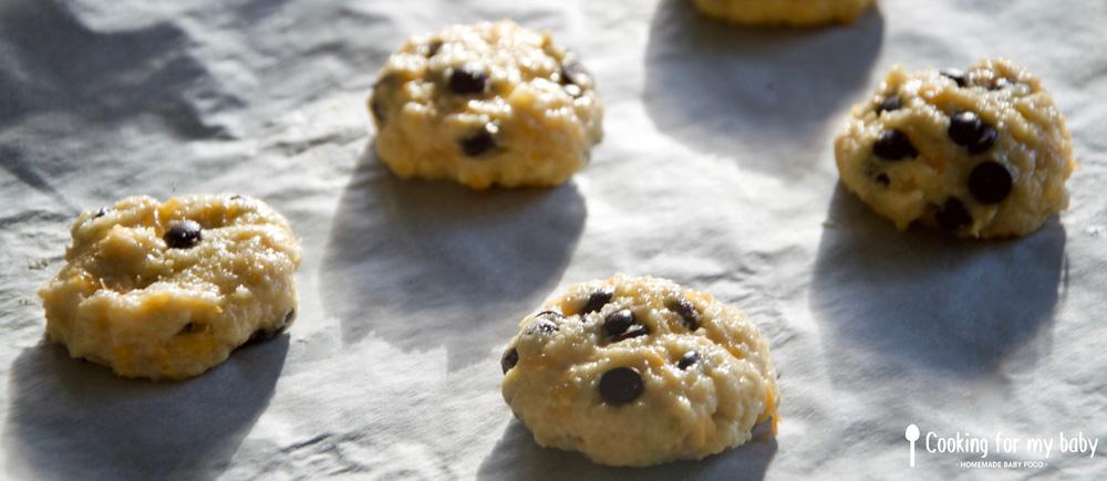 Cookies prêts à cuire pour bébé