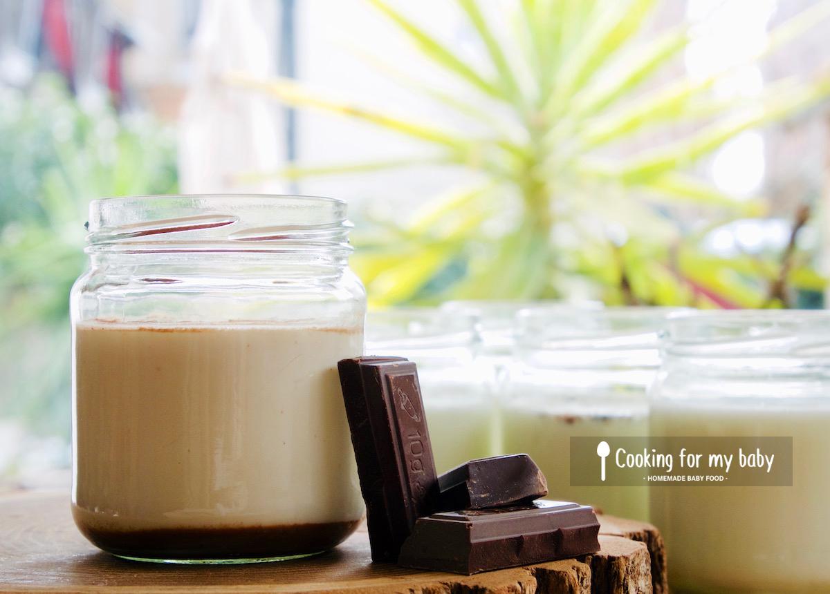 Recette de yaourt au chocolat pour bébé (Dès 6 mois)