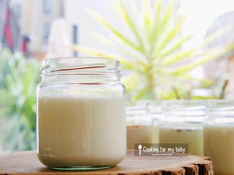 Recette de yaourt nature maison pour bébé (Dès 6 mois)