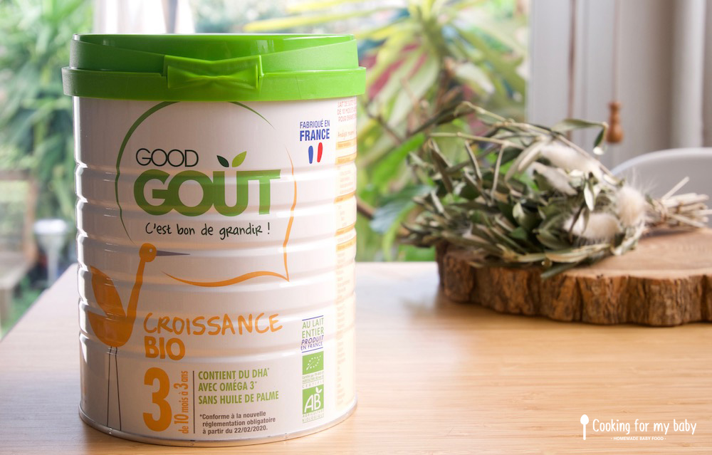 Test et avis sur le lait de croissance Good goût