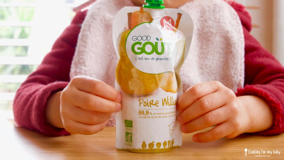 Test de produits pour les bébés de chez Good Goût
