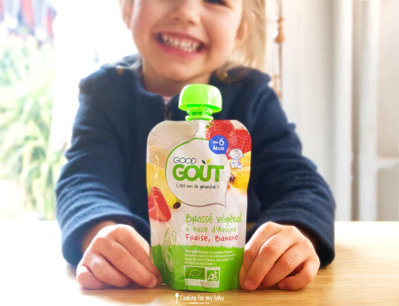 Test produits pour bébé Good Goût pendant la diversification