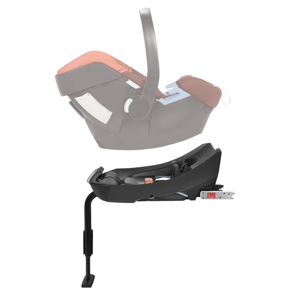 Matériel de puériculture pour bébé : La base isofix pour le siège-auto Aton de Cybex