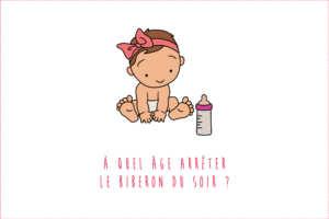 À quel âge arrêter le biberon du soir de bébé ?