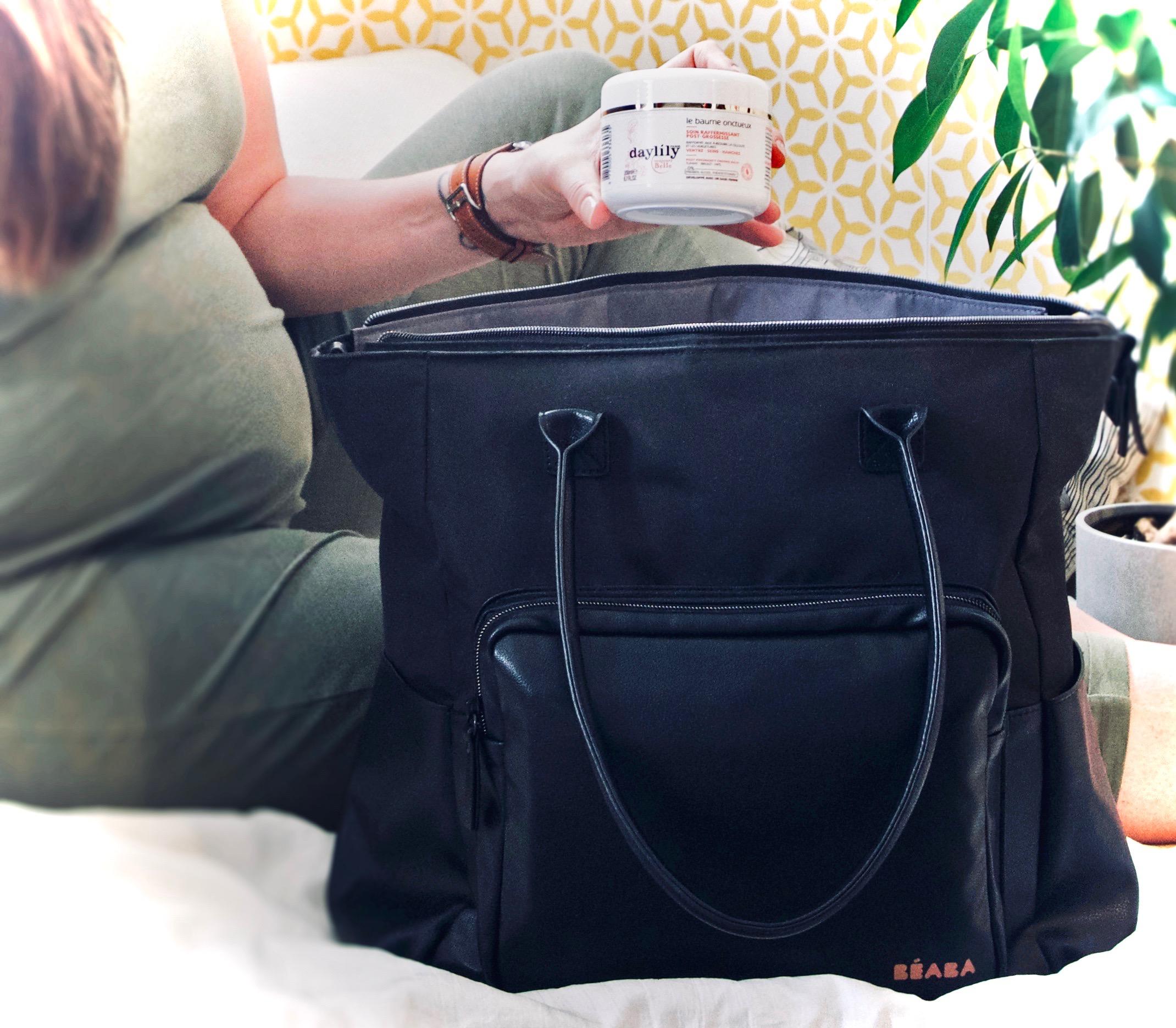 La valise de maternité pour maman