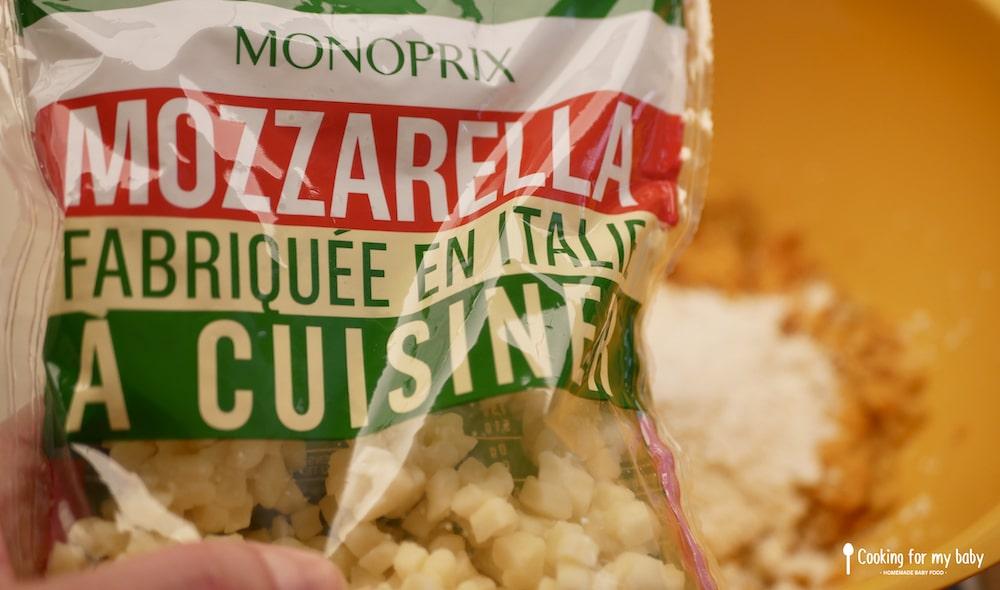 Mozzarella sèche (prête à cuisiner) pour les gnocchis de bébé