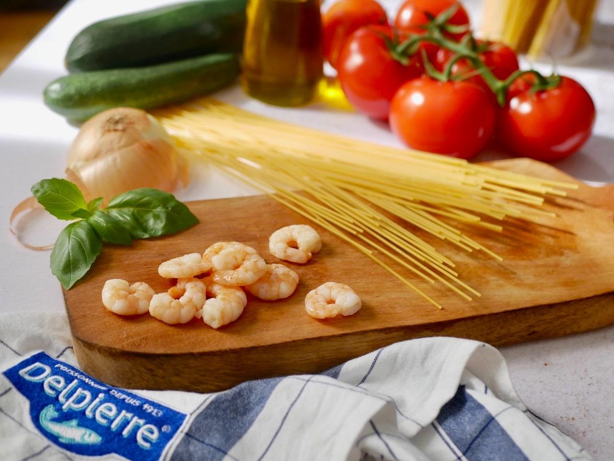 Crevettes décortiquées Delpierre