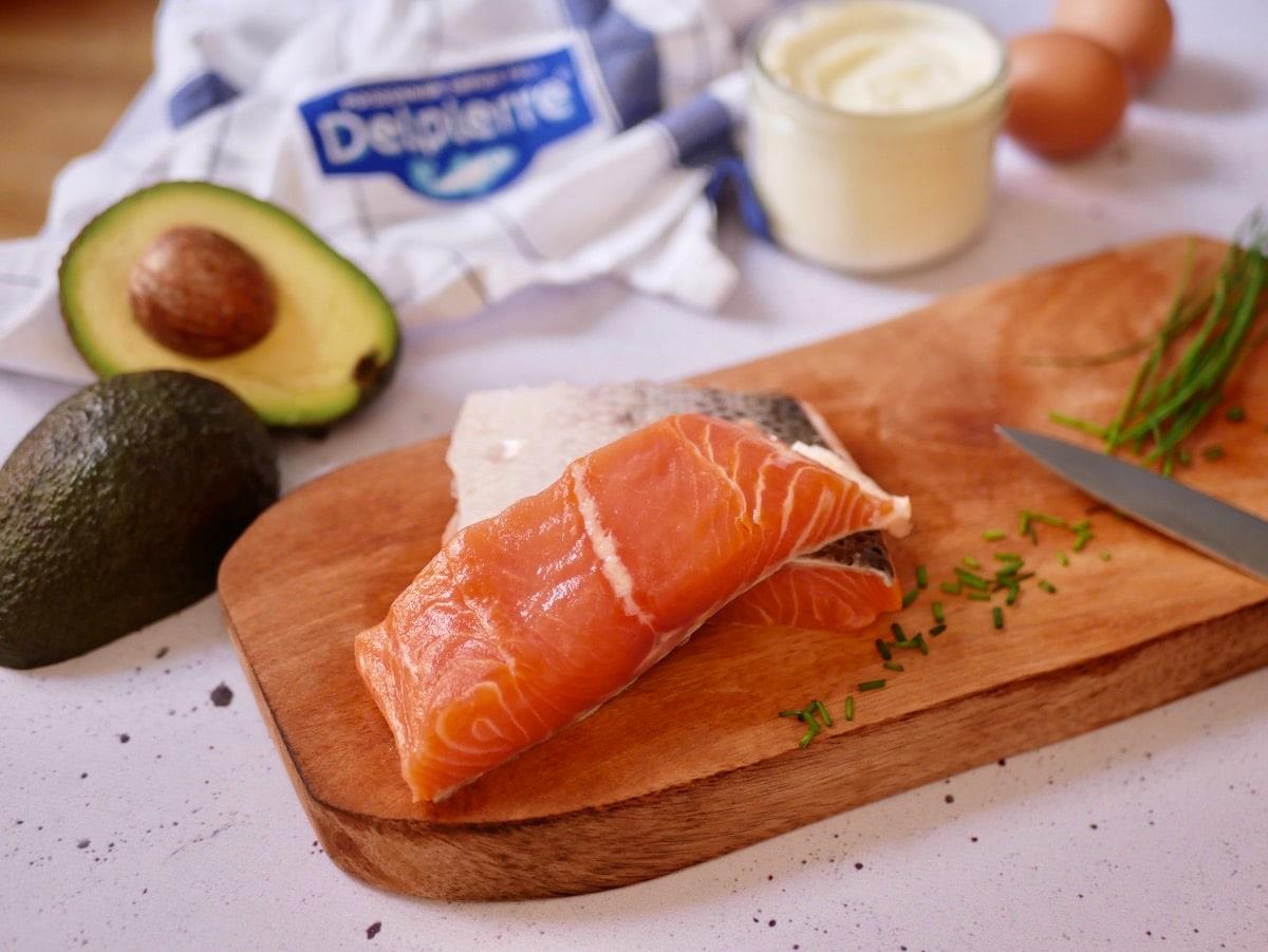 Pavé de saumon sauvage Delpierre