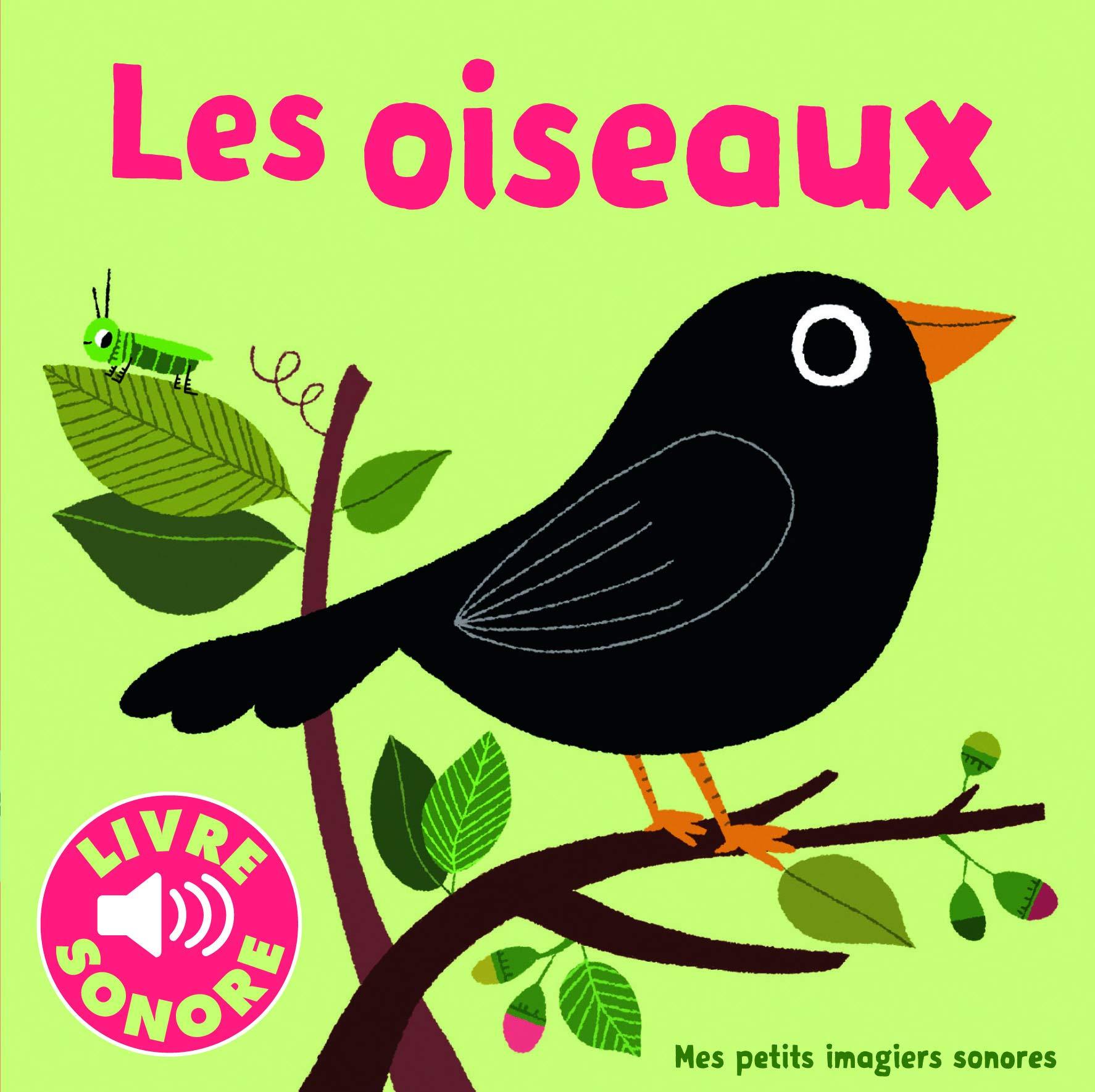 Les livres sonores chez Gallimard jeunesse musique - Les oiseaux - Livre pour enfant