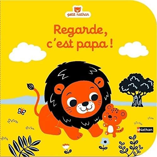 """Regarde, c'est papa"" avec les illustrations d'Emiri Hayashi"