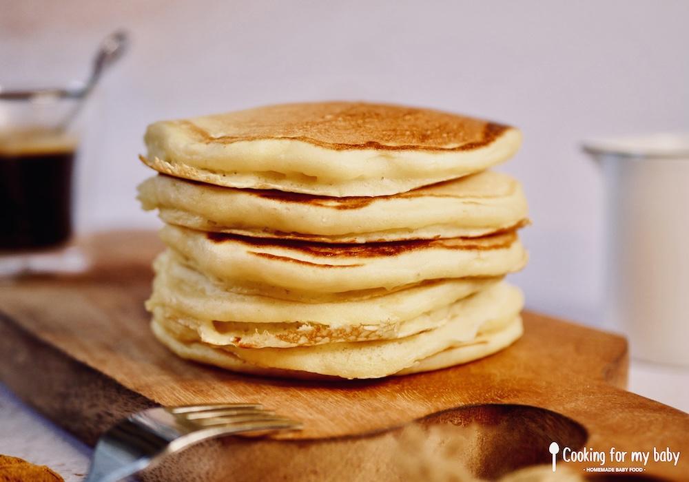 Recette de pancakes moelleux à souhait pour bébé et toute la famille (Dès 12 mois)
