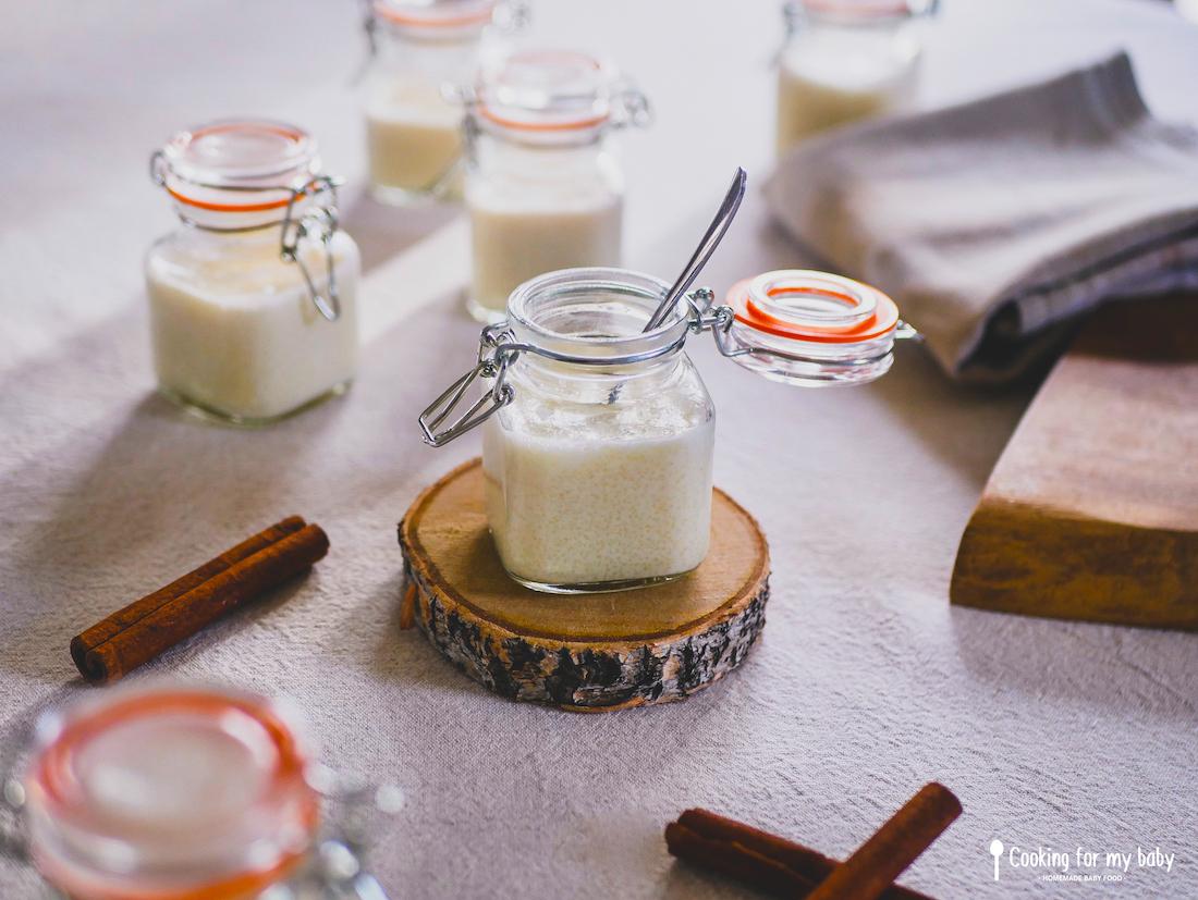 Recette de semoule au lait pour bébé et toute la famille ( Dès 8 mois)