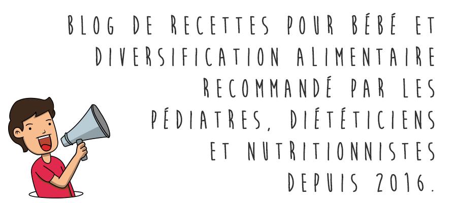 Cooking for my baby est un blog de recettes pour bébé et diversification alimentaire recommandé par des pédiatres, diététiciens et nutritionnistes depuis 2016.
